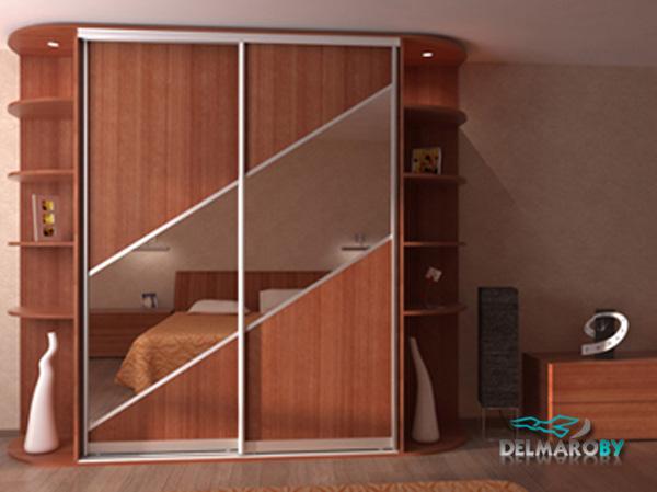 Шкафы-купе на под заказ в минске (delmaro): фото шкафов-купе.